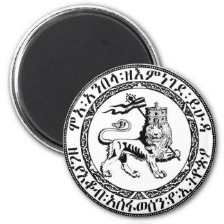 Restore the Solomonic Monarchy! 2 Inch Round Magnet