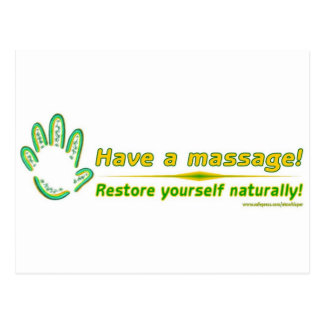 Restore Yourself Naturally Postcard