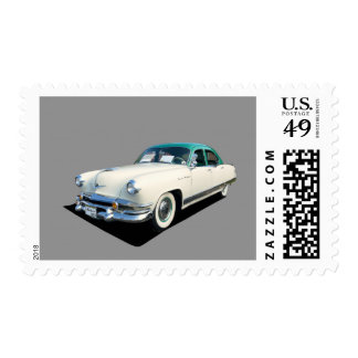 Restored 1953 Kaiser Automobile Postage Stamps