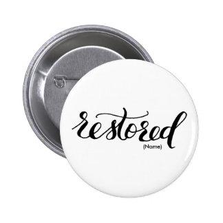 Restored Custom Button