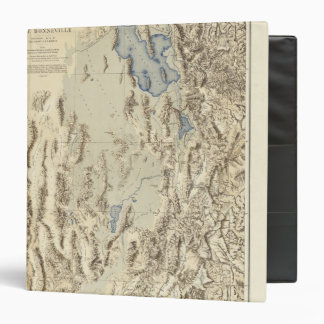 Restored Outline of Lake Bonneville Vinyl Binder