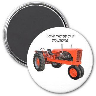 Restored Vintage Tractor Magnet