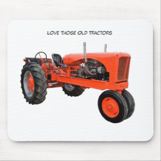 Restored Vintage Tractor Mouse Pad