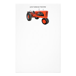 Restored Vintage Tractor Stationery