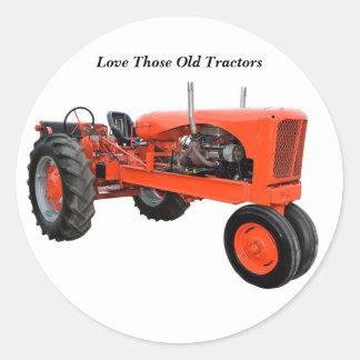Restored Vintage Tractor Sticker