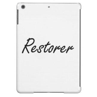 Restorer Artistic Job Design iPad Air Covers
