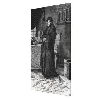 Restorer of the Latin language' Canvas Print