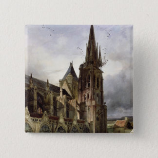 Restoring the Abbey Church of St. Denis in 1833 Button