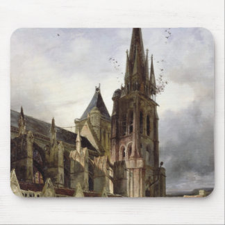 Restoring the Abbey Church of St. Denis in 1833 Mouse Pad