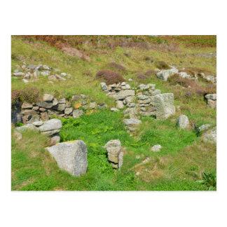 Restos antiguos en las islas de Scilly Postales