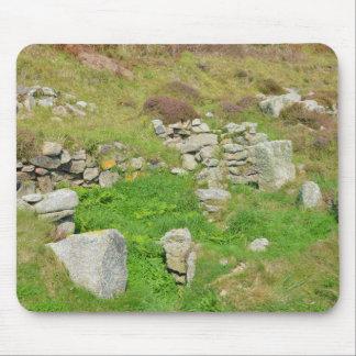 Restos antiguos en las islas de Scilly Tapete De Ratones