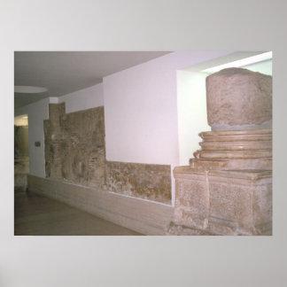 Restos de la basílica de Constantina Poster