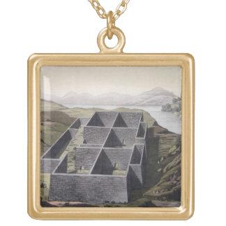 Restos de un palacio del inca en Callo, Perú, del  Pendiente Personalizado