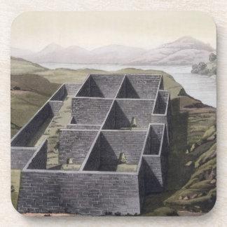 Restos de un palacio del inca en Callo, Perú, del  Posavasos De Bebidas