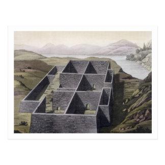 Restos de un palacio del inca en Callo, Perú, del  Tarjetas Postales