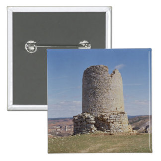 Restos de una torre de la ciudad de 'Uxama Argelae Pin Cuadrada 5 Cm