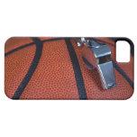 Restos del silbido de un árbitro encima de a iPhone 5 Case-Mate cárcasa
