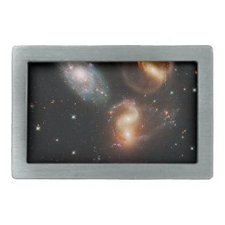Restos galácticos en el quinteto de Stephan Hebilla Cinturón Rectangular