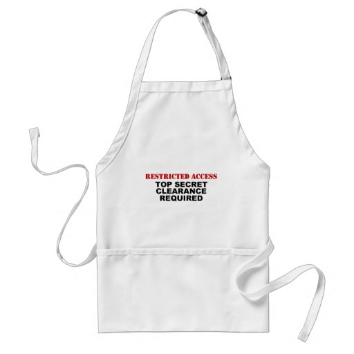 Restricted Access Adult Apron