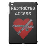 Restricted Access Heart Art iPad Case
