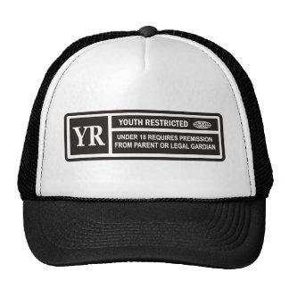 RESTRICTED TRUCKER HAT