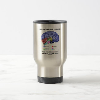 Restructure Your Thoughts Make The Connections Travel Mug