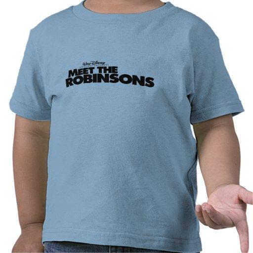Resuelva el logotipo Disney de Robinsons Camisetas