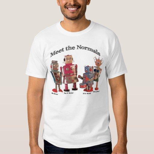 Resuelva la camiseta de los Normals Playera