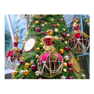 Resuelva los manniquins del navidad postal