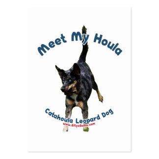 Resuelva mi perro de Houla Tarjeta Personal
