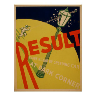 Result Community Vintage Poster