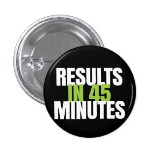¡Resultados en 45 minutos - trabaja! Global Pin Redondo De 1 Pulgada