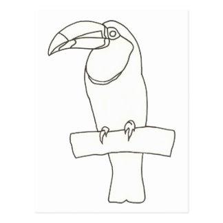 Resuma el dibujo del arte de las postales de un