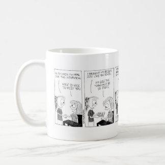 Resume Building mug