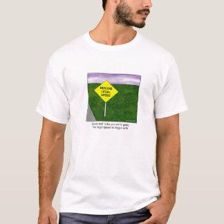 Resume Legal Speed Cartoon T-shirt