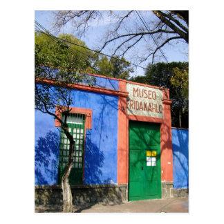 Resumen la casa azul en Coyoacan, donde ka de Frid Tarjeta Postal