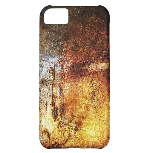 resumen marrón oxidado del humo de la quemadura de funda para iPhone 5C