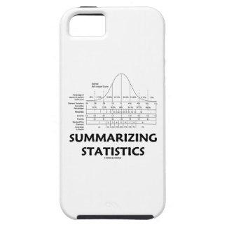 Resumiendo las estadísticas (distribución de la cu iPhone 5 Case-Mate protectores