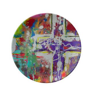 """Resurrección 8,5"""" placa de la porcelana platos de cerámica"""