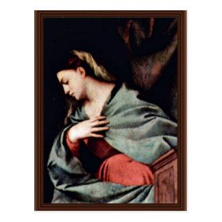 Resurrección de Cristo (Averoldi-Altarpolyptychon) Tarjeta Postal