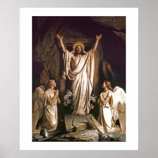 Resurrección de Cristo de Carl Bloch. Poster