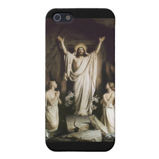 Resurrección de Cristo iPhone 5 Carcasas