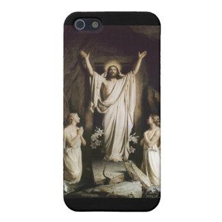 Resurrección de Cristo iPhone 5 Fundas