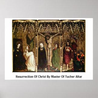 Resurrección de Cristo por el amo del altar de Tuc Poster
