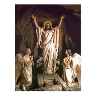 Resurrección de Cristo. Postales de Pascua de la b