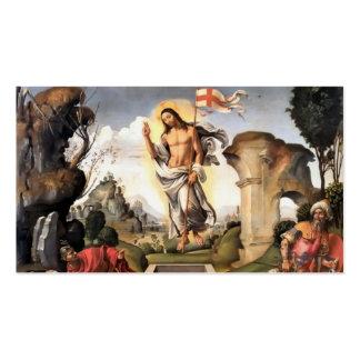 Resurrección de Cristo Tarjetas De Visita