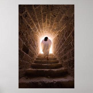Resurrección de la impresión/del poster del Jesucr Póster
