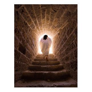 Resurrección de la postal del Jesucristo