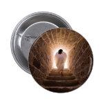 Resurrección del botón del Jesucristo Pin