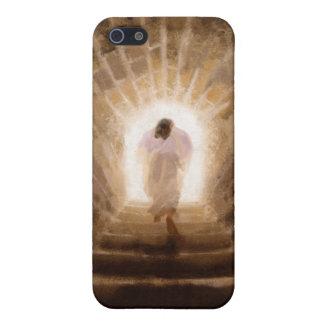 Resurrección del caso del iPhone del Jesucristo iPhone 5 Carcasa